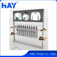 LED light box clothes rack